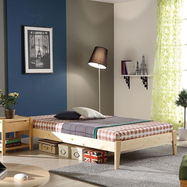 소나무 퀸 침대 프레임 AF2088-1