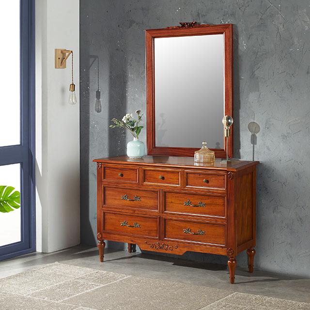 비샤 엔틱 화장대 거울세트