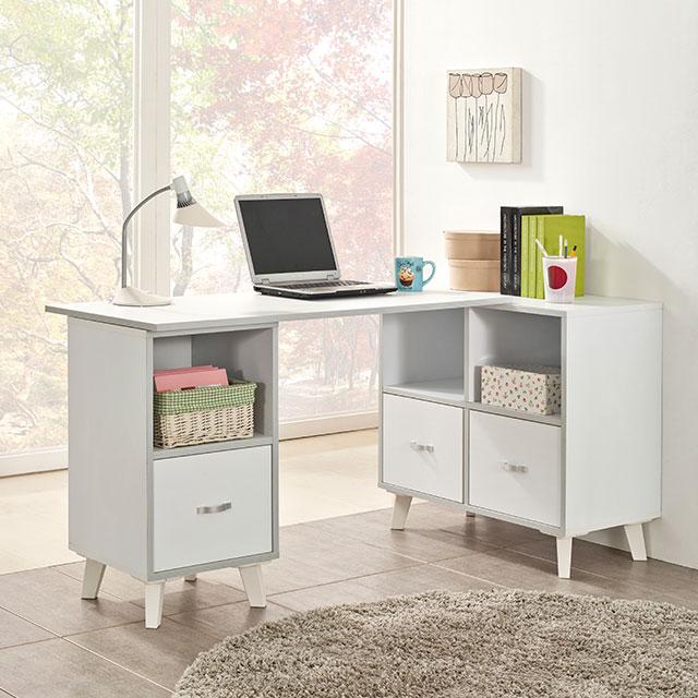서세이 수납형 h형 낮은 책상 2컬러 ES255-1