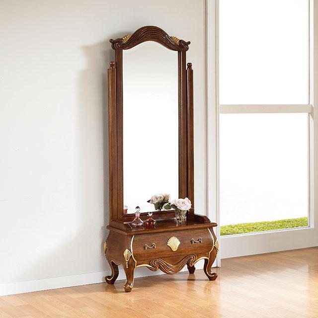 로이스 마호가니원목 엔틱 전신 거울 화장대 ES687-2