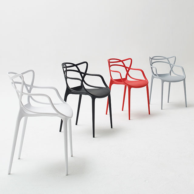 리사 탄성PP 다용도 의자 4컬러