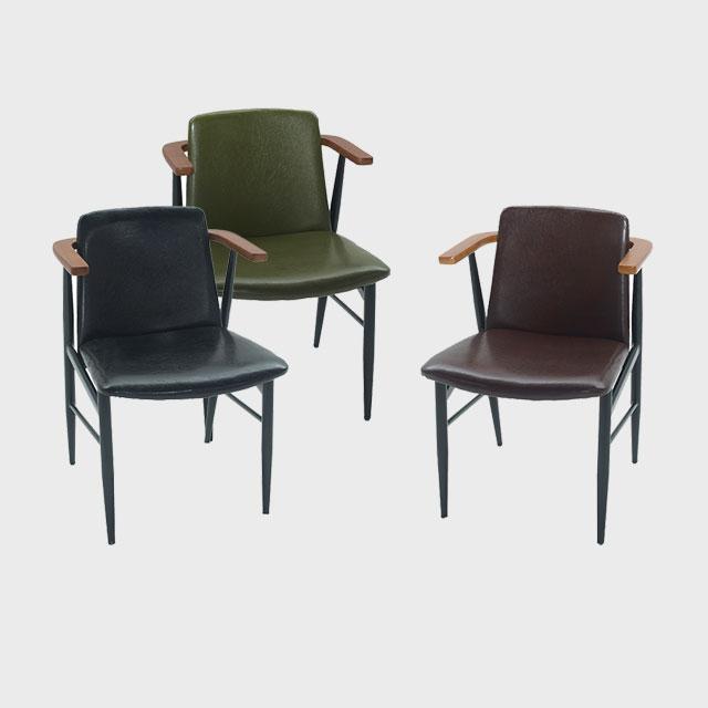 베그 철제 다용도 카니발 의자 3컬러