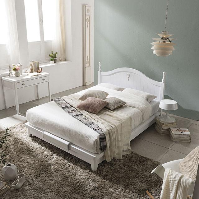 SP 337 화이트 슈퍼싱글 침대 프레임 GC1101-1