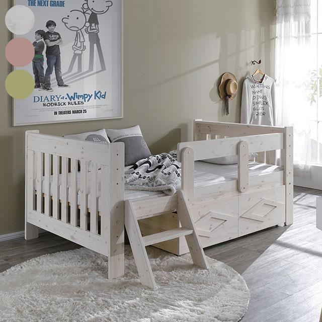 파인 계단 서랍형 슈퍼싱글 침대 프레임 GC1150-1