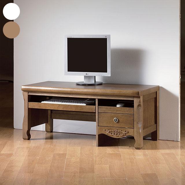 디오스 엔틱 좌식 컴퓨터 책상 GC384-2