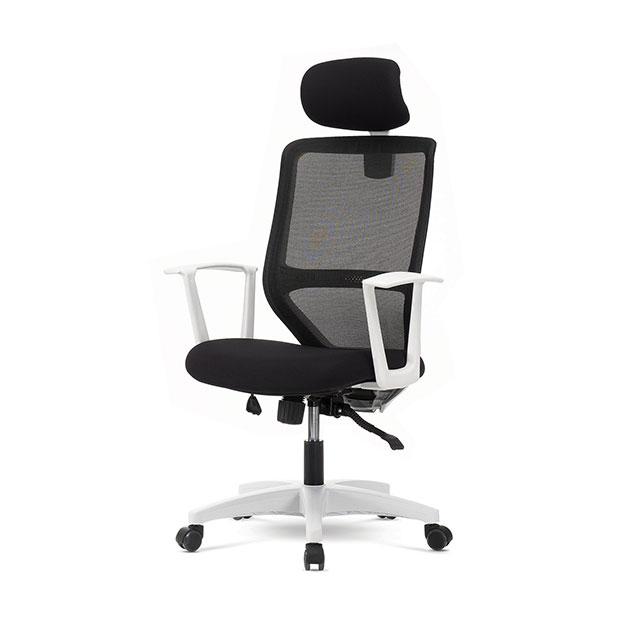 LK600 블랙 대형 책상 의자 GC430-11