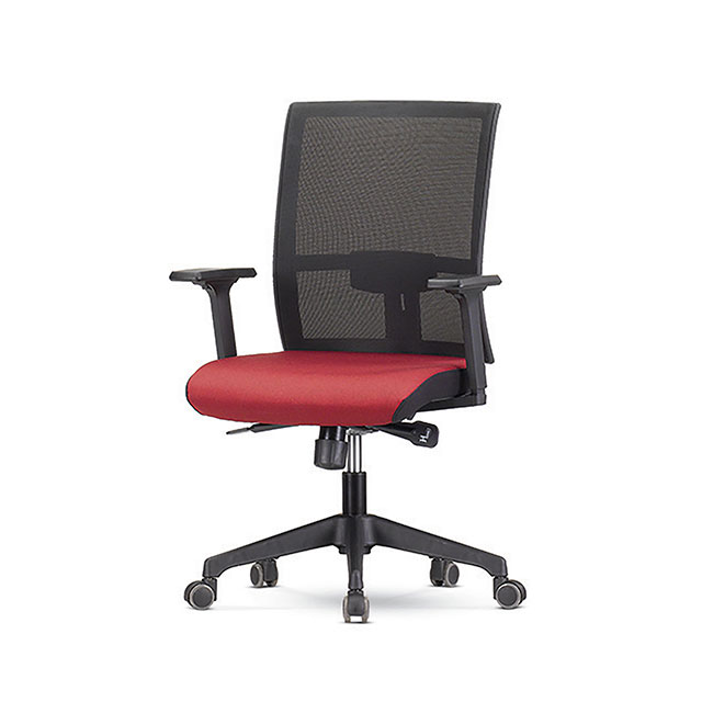 레드 B형 책상 의자 GC431-10