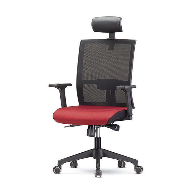 레드 A형 책상 의자 GC431-9