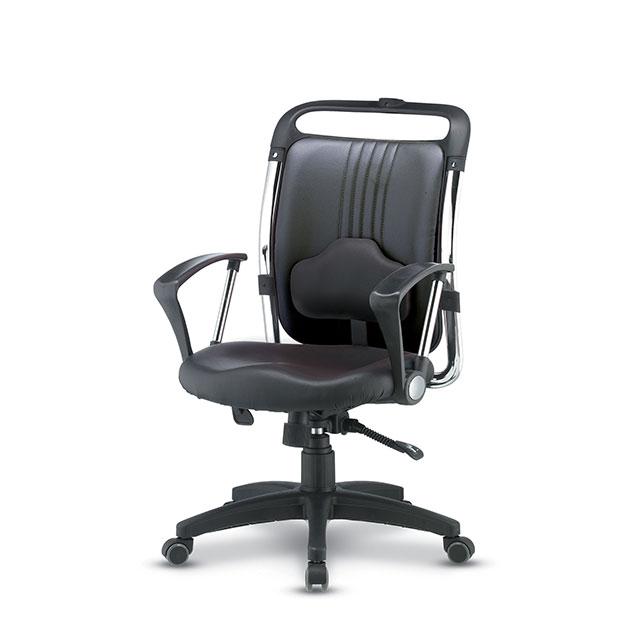 디스 가죽 중형 책상 의자 GC432-12