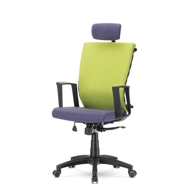퍼플 A형 책상 의자 GC432-1