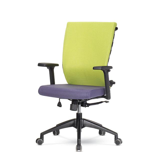 퍼플 D형 책상 의자 GC432-4