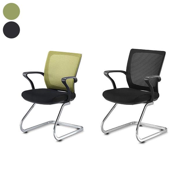 브이 메쉬 회의용 책상 의자 GC433-11