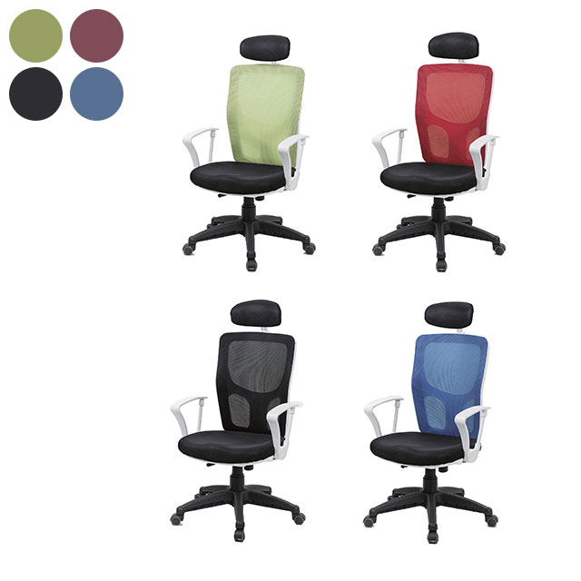 마시멜로 경추형 메쉬 책상 의자 GC436-1