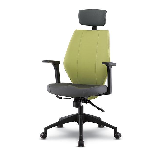 로나 A형 가죽 책상 의자 GC439-11