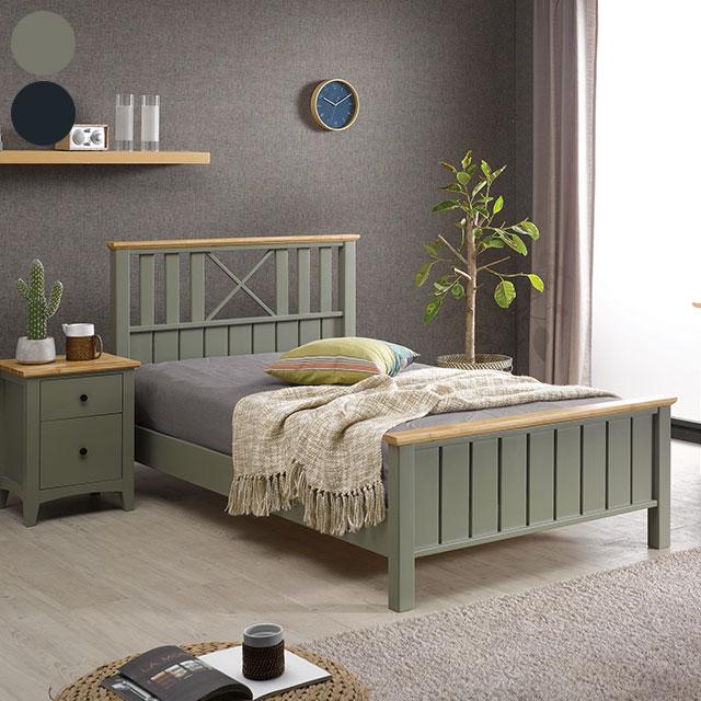 브리츠 고무나무원목 슈퍼싱글 침대 GD825-1