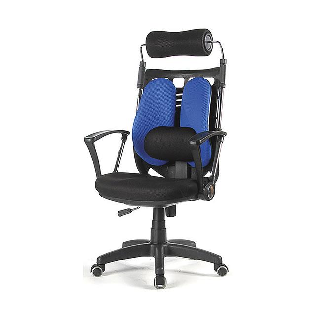 듀얼 요추 모던 학생 사무용 의자 (2컬러) GN507-3