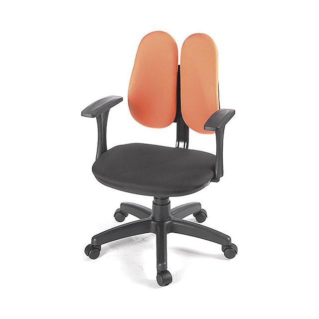 트윈 더블백 학생 사무용 의자 4컬러 GN510-1