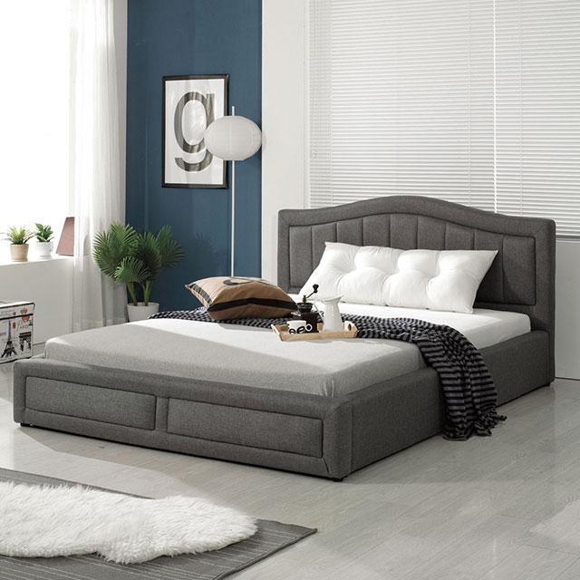포인트 201 패브릭 퀸 침대 TE235-2
