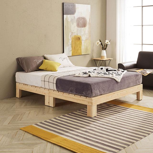 로미 무헤드 편백나무 퀸 침대 TE244-2