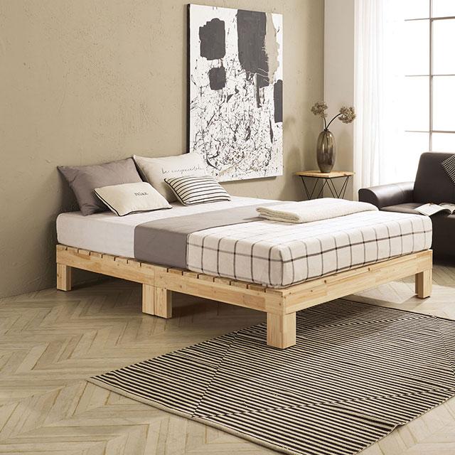 로미 무헤드 삼나무 퀸 침대 TE245-2