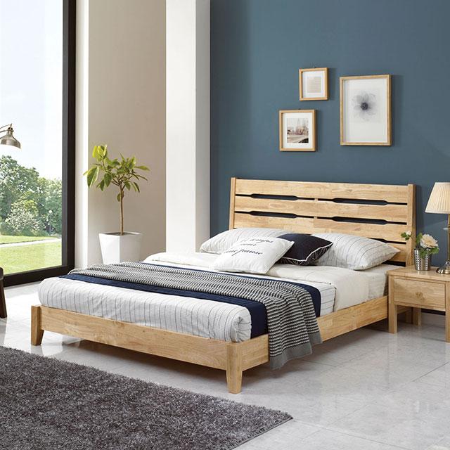 에든 원목 퀸 침대 TE248-3