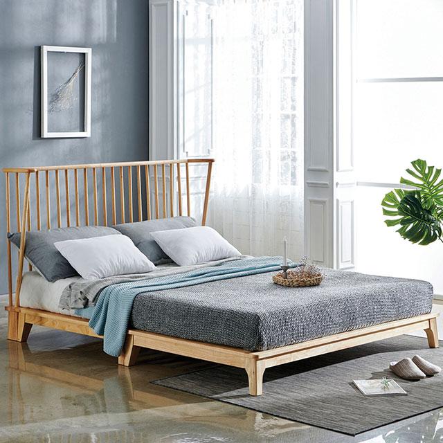라이너 원목 퀸 침대 TE249-1