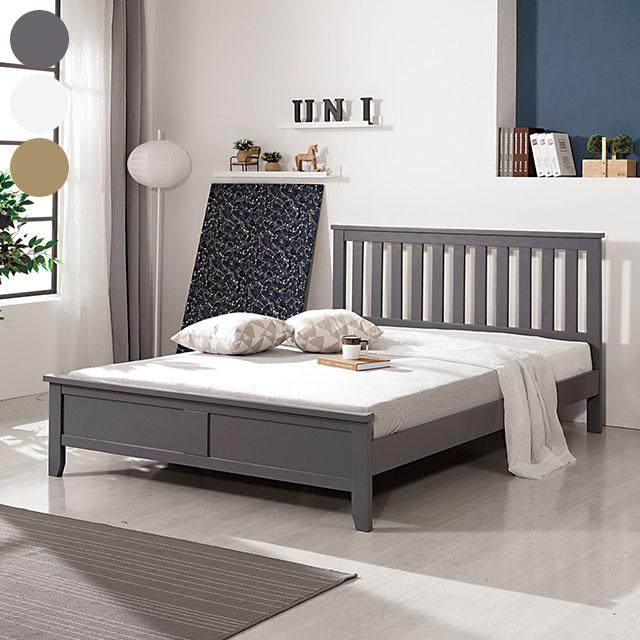 네트 소나무원목 퀸 침대 TE250-1
