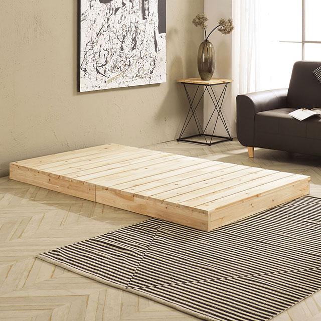 로미 저상형 삼나무 슈퍼싱글 침대 TE268-1